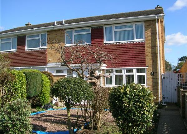 Thumbnail Semi-detached house to rent in St. Helens Road, Gosport