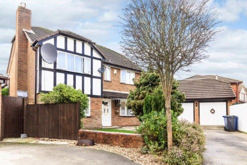 Thumbnail Detached house for sale in Stanner Close, Callands, Warrington, Cheshire