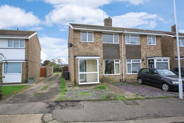 Thumbnail Semi-detached house for sale in Newtimber Avenue, Goring By Sea, Worthing