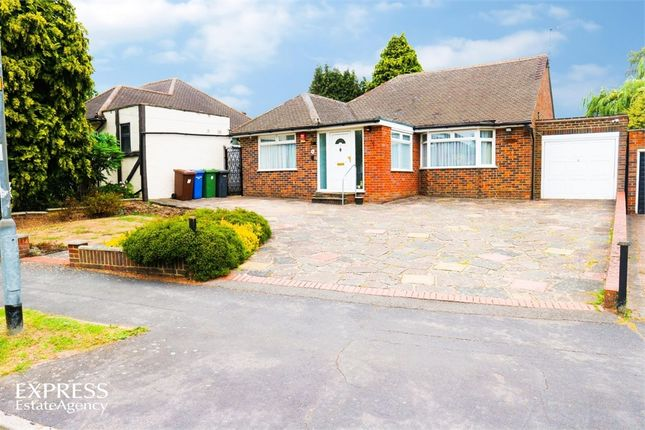Thumbnail Detached bungalow for sale in Newberries Avenue, Radlett, Hertfordshire