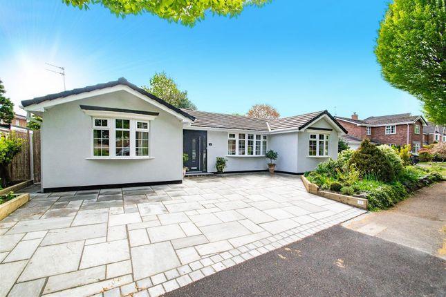 Thumbnail Detached bungalow for sale in Summerville Gardens, Stockton Heath, Warrington