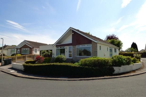 Thumbnail Detached bungalow for sale in Hayfell Crescent, Hest Bank, Lancaster