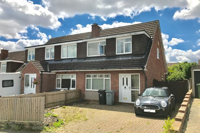 Thumbnail Semi-detached house for sale in Ashley Drive, Gonerby Hill Foot, Grantham