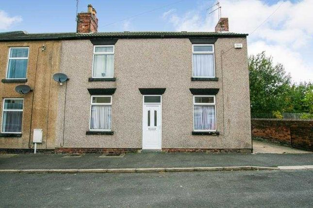 Thumbnail Terraced house for sale in Cross London Street, New Whittington, Chesterfield, Derbyshire
