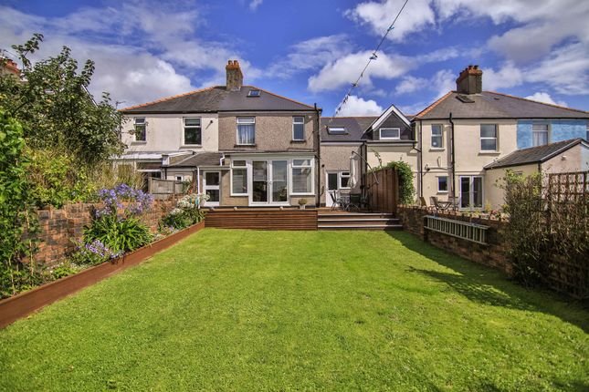 Thumbnail Semi-detached house for sale in Franklen Road, Whitchurch, Cardiff
