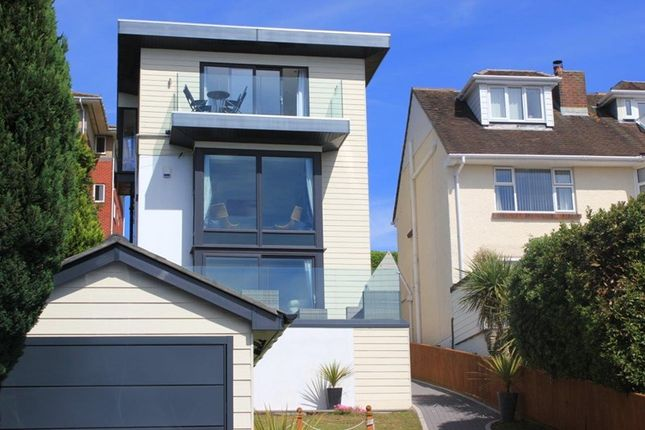 Thumbnail Detached house for sale in Churchfield Crescent, Poole Park, Poole