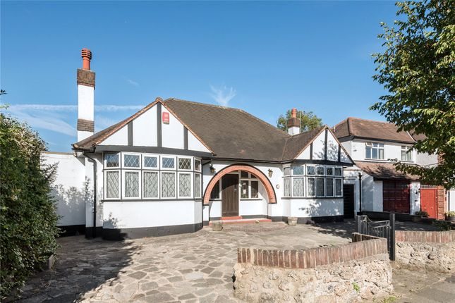 Thumbnail Detached bungalow for sale in Church Way, Whetstone, London