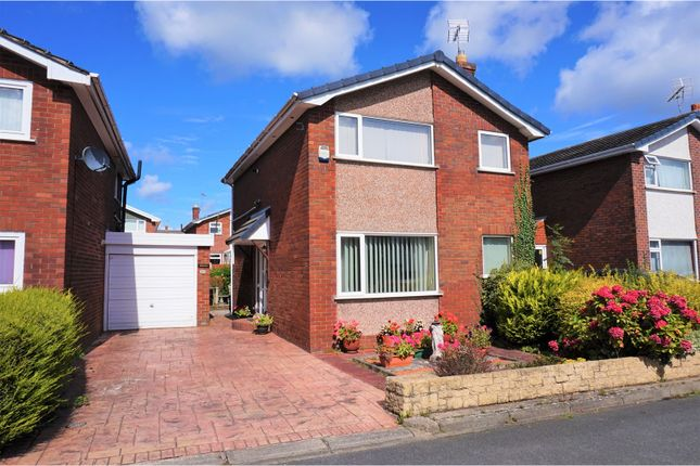 Thumbnail Link-detached house for sale in Lexham Green Close, Buckley