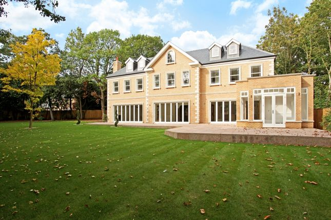 Thumbnail Detached house to rent in Onslow Road, Burwood Park, Hersham, Walton-On-Thames
