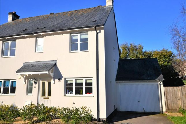 Thumbnail Semi-detached house to rent in Boconnoc Avenue, Callington, Cornwall