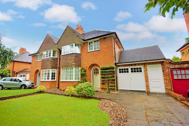 Thumbnail Semi-detached house for sale in Hawthorne Road, Bournville, Birmingham