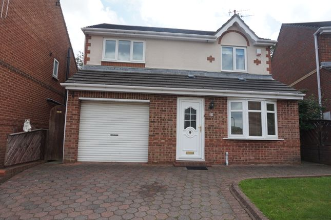 Thumbnail Detached house to rent in Beaconglade, South Shields