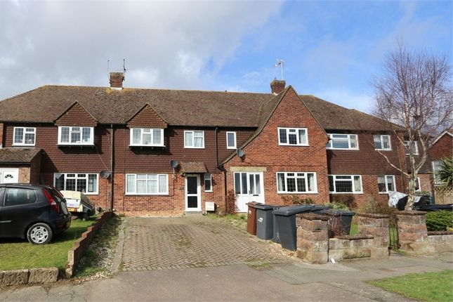 Thumbnail Terraced house to rent in Harebeating Drive, Hailsham, East Sussex