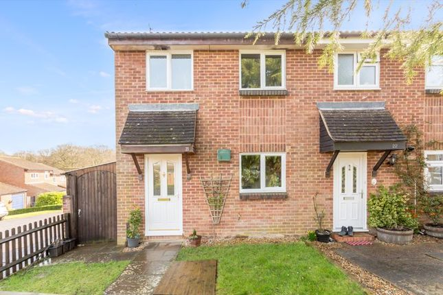 Thumbnail Semi-detached house for sale in Hallsland, Crawley Down, West Sussex
