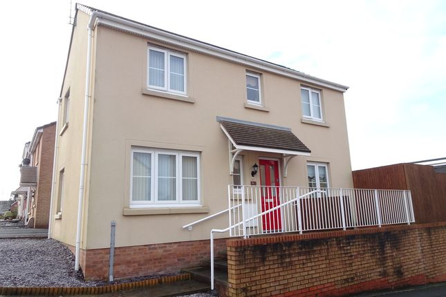 Thumbnail Detached house for sale in 1 Mill Meadow, North Cornelly