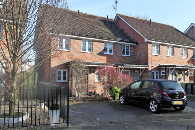 Thumbnail End terrace house for sale in The Lindens, Mytchett
