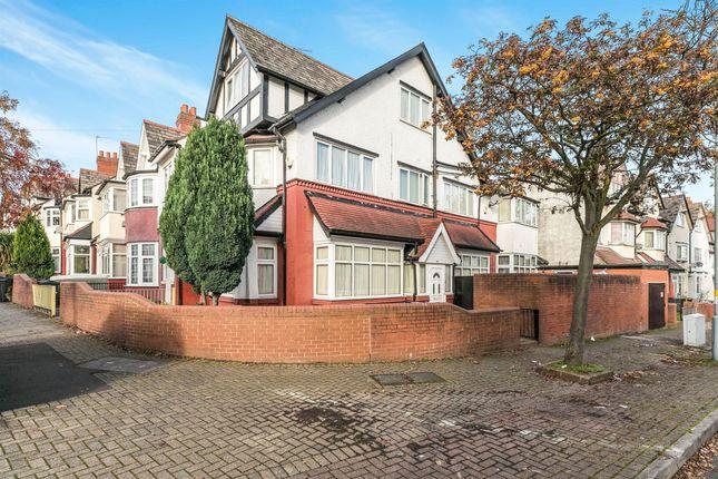Thumbnail End terrace house for sale in Lansdowne Road, Handsworth, Birmingham