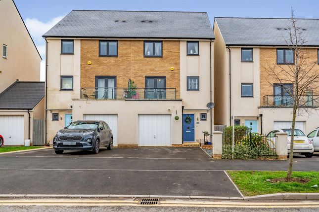 Thumbnail Town house for sale in Willowherb Road, Emersons Green, Bristol