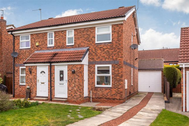 Thumbnail Semi-detached house for sale in Seaton Close, York