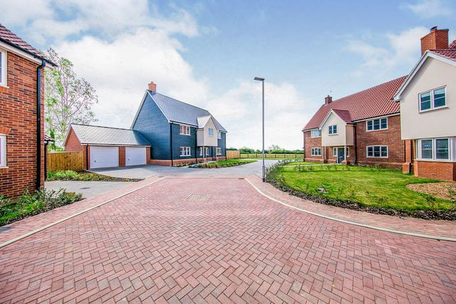 Thumbnail Detached house for sale in Church Road, Otley, Ipswich