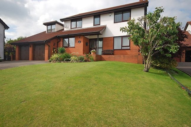 Thumbnail Detached house for sale in The Paddocks, Lodge Hill, Caerleon, Newport