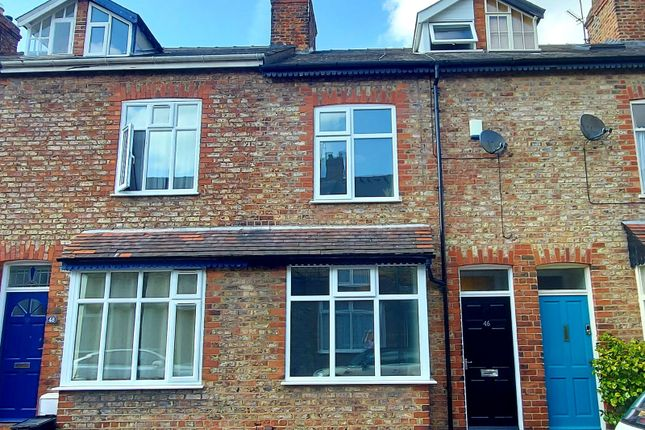 Thumbnail Terraced house for sale in Westwood Terrace, York