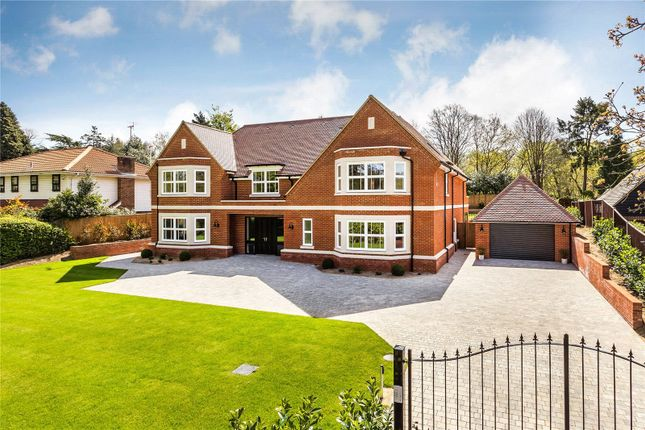 Detached house to rent in Old Avenue, West Byfleet, Surrey