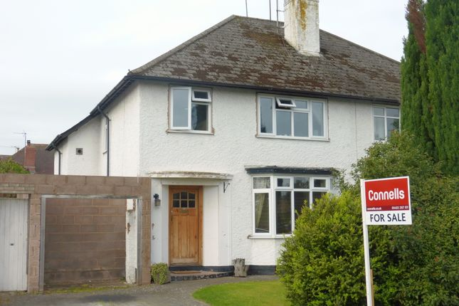 Thumbnail Semi-detached house for sale in Kings Acre Road, Hereford