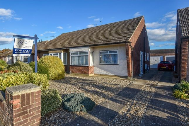 Thumbnail Semi-detached bungalow for sale in Rose Avenue, Stanway, Colchester, Essex