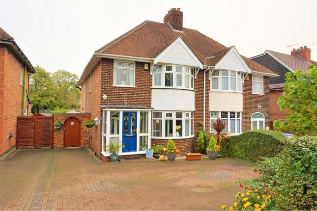 Thumbnail Semi-detached house for sale in Stanton Road, Burton-On-Trent