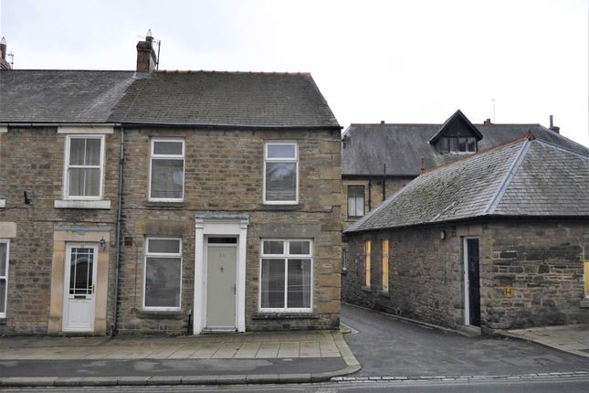 Thumbnail End terrace house to rent in Front Street, Stanhope, Bishop Auckland