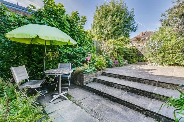 Garden of Strathearn Road, London SW19