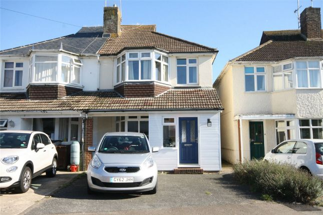 Thumbnail Semi-detached house for sale in Church Hill Avenue, Little Common, Bexhill On Sea