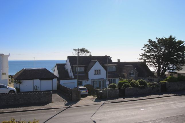 Sea View of De Moulham Road, Swanage BH19