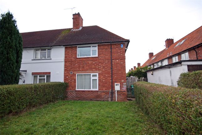 Thumbnail End terrace house to rent in Olton Avenue, Beeston, Nottingham