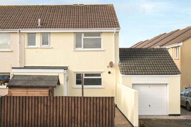 Thumbnail End terrace house for sale in Pengegon Parc, Pengegon, Camborne