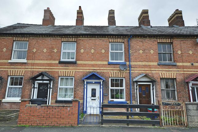 Thumbnail Terraced house for sale in Crynfryn Place, New Road, Newtown, Powys