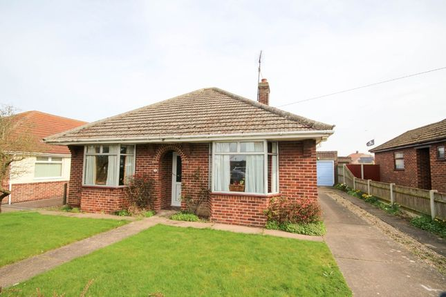 Thumbnail Detached bungalow for sale in Lynn Grove, Gorleston, Great Yarmouth