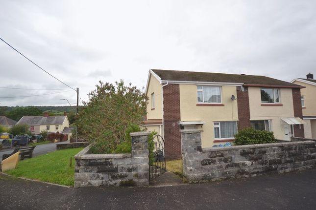 Thumbnail Semi-detached house to rent in Jones Terrace, Glanamman, Ammanford