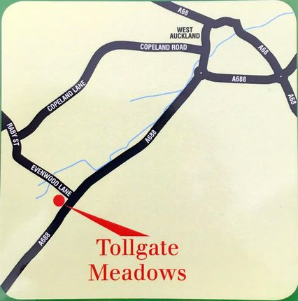 Tollgate Meadows of Tollgate Meadows, Evenwood Gate, Bishop Auckland DL14