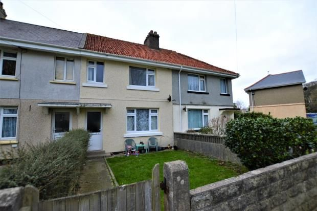 Thumbnail Terraced house for sale in Manor Road, Camborne, Cornwall