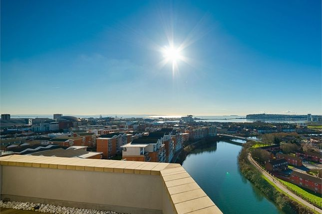 Thumbnail Flat for sale in Marseille House, Hansen Court, Century Wharf, Cardiff