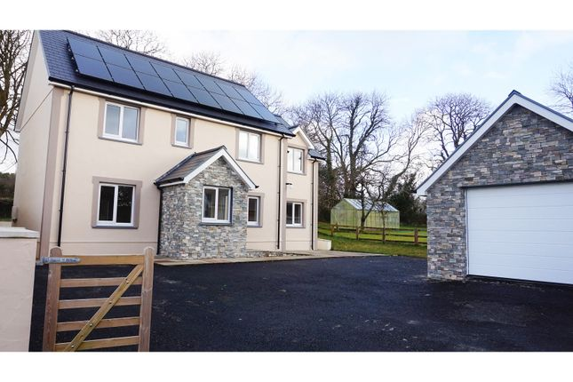 Thumbnail Detached house for sale in Newchapel, Boncath
