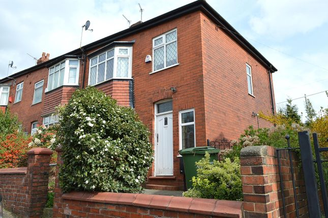 Thumbnail End terrace house for sale in Wellington Road, Coppice, Oldham