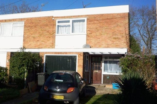 Thumbnail End terrace house to rent in Greenways, Englefield Green, Egham