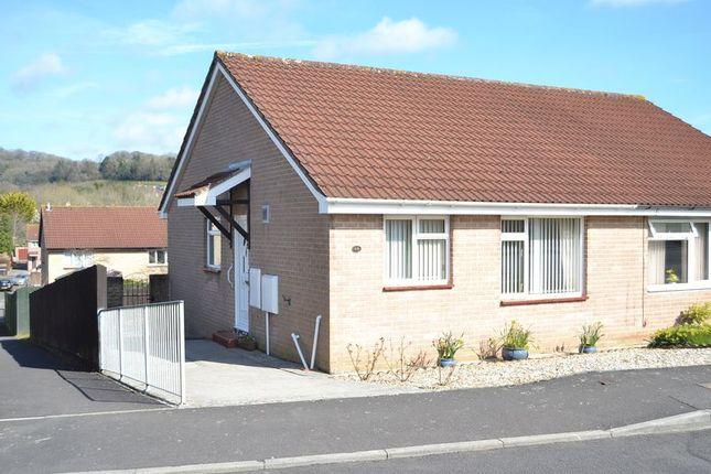 Thumbnail Semi-detached bungalow to rent in Lethbridge Road, Wells