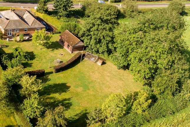 Thumbnail Detached bungalow for sale in Salisbury Road, Sherfield English, Romsey, Hampshire