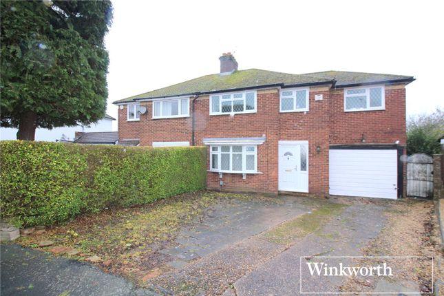 Thumbnail Semi-detached house for sale in Oakwood Avenue, Borehamwood