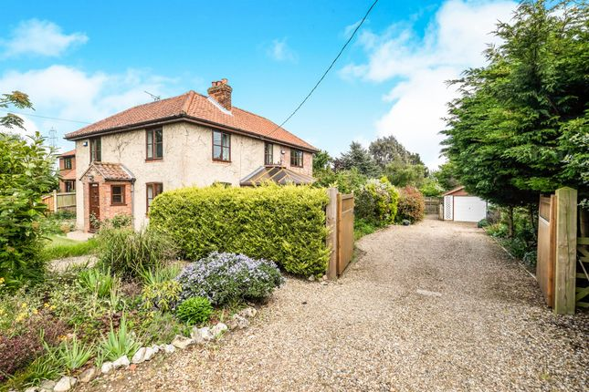 Thumbnail Detached house for sale in School Lane, Heckingham, Norwich