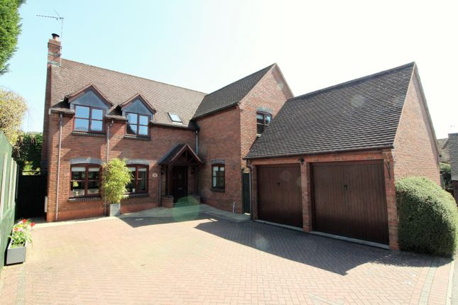 Thumbnail Detached house for sale in Weavers Close, Redditch